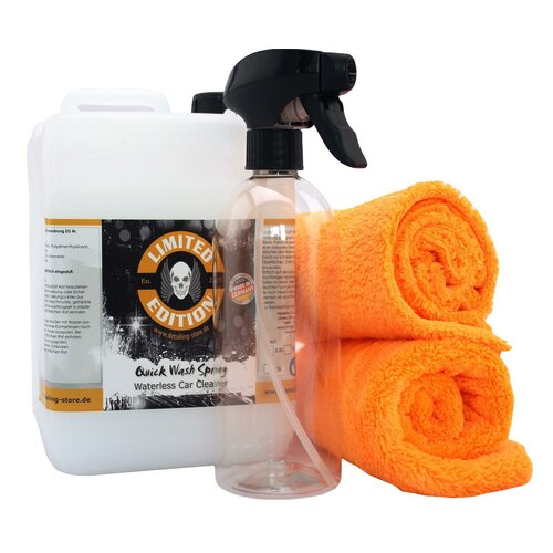 Limited Edition Quick Wash 2,5L + 2x Crazy Orange Tuch + Sprayflasche