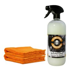 1L Quick Wash - Waterless Car Cleaner + 2x Crazy Orange...